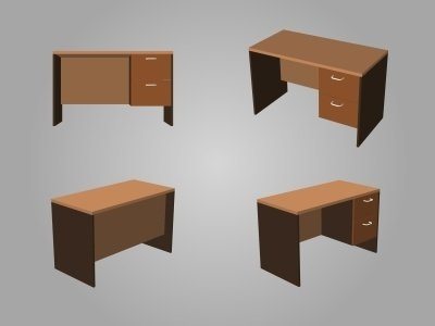wie kann ich ein schreibtisch selber bauen fred 39 s bauanleitungen. Black Bedroom Furniture Sets. Home Design Ideas