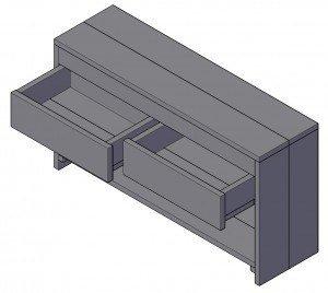 Einen Schrank bauen, ist das schwierig?