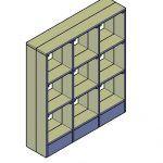 Wie kann ich ein Fächerregal selbst bauen?