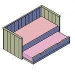 Auf der Suche nach einem Bett Bauplan?