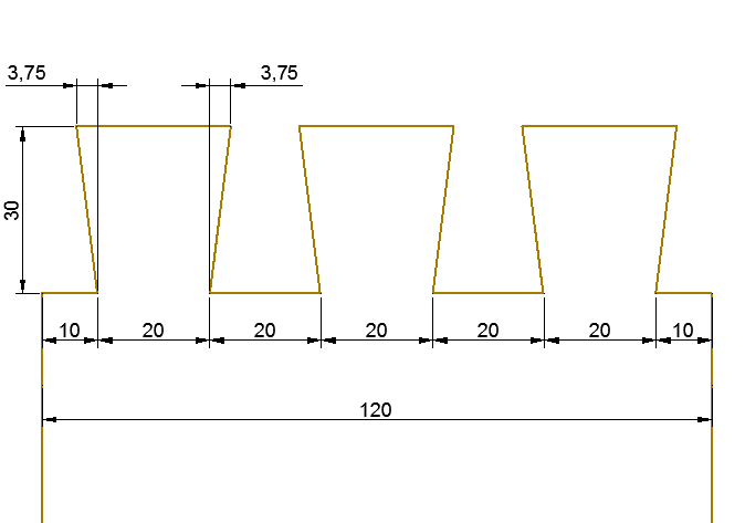 Die Verteilung der Schwalben markieren